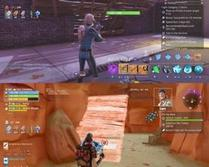 Top screenshot: These walls were not placed correctly, they cut the stairs in half, and they don't even align with player built structures. Bottom screenshot: The cave under the radar tower in hit the road is also incorrectly aligned with buildings, making you unable to build in the cave.