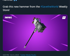 4 tweets in a week about STW. Is something wrong at EPIC HQ?