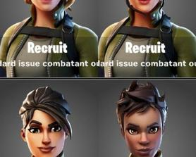 New Female Default Skins! (Credit: @Lucas7yoshi)