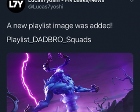 New squads playlists were added to files, including 'Playlist_DADBRO_Squads', 'Playlist_DADBRO_Squads8' and 'Playlist_DADBRO_Squads12'.