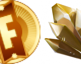 STW Dungeon Coins & Crystal Icons. (@iFireMonkey)