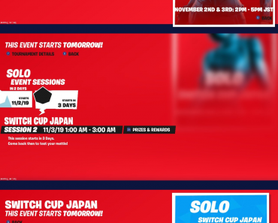 """A Japan """"Switch Cup"""" starts tomorrow for Nintendo Switch! (@iFireMonkey)"""