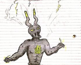 I drew the storm king from memory in class. Pencil, pen, and highlighter. Originally posted on r/fortniteBR, and someone said that I should post it over here too! :)