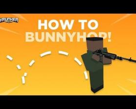 Bunny Hopping is an essential skill to learn when becoming the best you can be at Krunker. Here is how you do it!
