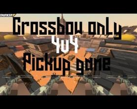 Crossbow only 4v4 - Krunker Scrim