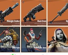 New weapons, battle breakers collab and the monster constructor.