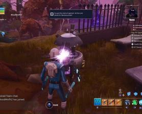 Oh hey buddy! Sure, get in there have a whack.... plenty of mats for everyone my dude. Husks are just misunderstood. They just want to help. It's the Gnomes I really don't trust.