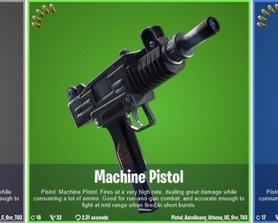 (Via @HYPEX on Twitter) More changes that i found, some pistols were slightly nerfed, and this *UNRELEASED* weapon was nerfed too: Old Damage: 20, 21, 22 New Damage: 15, 16, 17 Fire Rate & Spread: 14 & 0.25, 14 & 0.25, 14 & 0.25