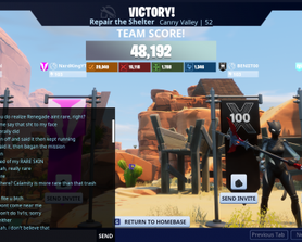 When you decide point something out to the rest of a lobby and one guy gets butthurt. I was gonna post more, but NVIDIA bugged and by the time I could get this pic, I got kicked out. Long story short, he barely helped, was asking where I live, threatening to kill me, and kept wanting to 1v1.