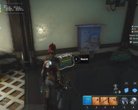 You can now find the large ammo box from the better rendered mode! Found this behind a waterfall in lakeside.