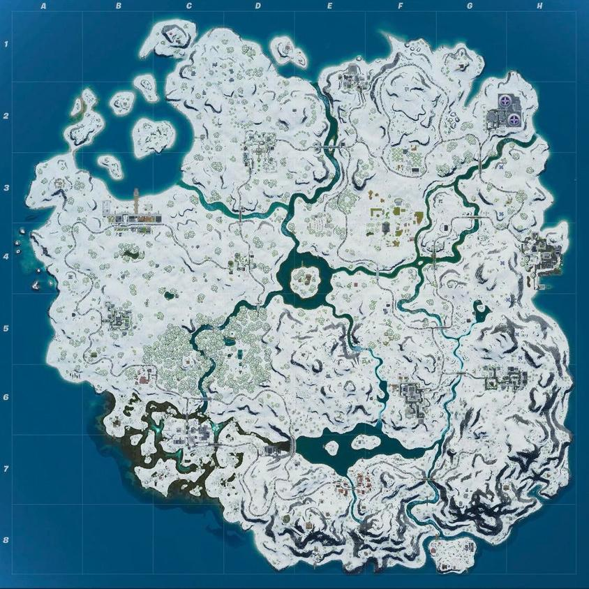 Guilie_GAG christmas map Fortnite - Fortnite Quiz