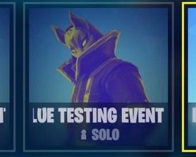 A bunch of testing events leaked so you get to choose which color lightsaber you want