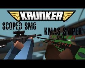 Scoped SMG + Old Kmas Mod release
