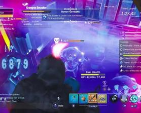 Less than 2 minutes left, my team all died to lag, please fix Frostnite.