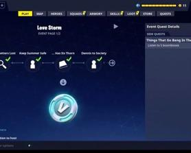 Remember when we could earn vBucks from Event quests?