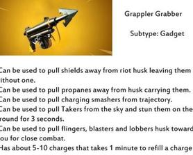 Since we have smarter husk changes to the game im sure Lok and Lars can create a new gadget to counter some of these problems that we are having.