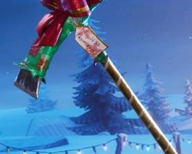 """The """"You Shouldn't Have"""" Pickaxe includes a little STW Easter Egg! """"From: Kyle, To: Jess"""""""