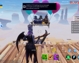 Found this flying Gnome high above a desert mission