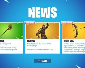 Hey epic, it isnt January 24 yet, and Wukong's team perk is soaring mantis, not mantis leap