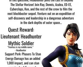 The VSS Gallant takes flight once more as Headhunter joins the crew of Beyond The Stellar Horizon's latest blockbuster sequel!