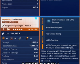 Why did they Blizzard Blitzer get nerfed? The patch notes mentioned nothing of it and i had to find out in gameplay. Just like when you changed the MSK launcher, it was posted in the patch note about to let everyone know. Where is the weapon reset for this and i dont want to recylce it?