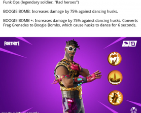 Would love to see the disco themed skins from the other mode become heroes based around making husks dance. Here's an idea I had for one.