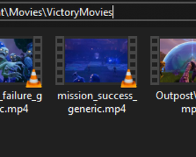 You can customize/edit those files [Custom End Screens Scenes]