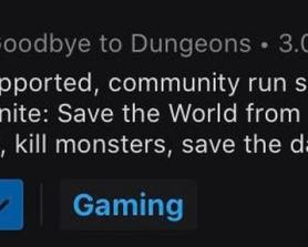 I think we already said our goodbyes to Dungeons and filled the burner. Time to change this. Mods?