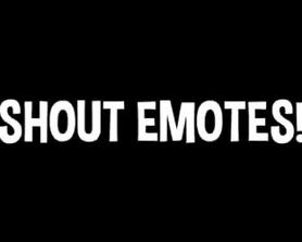 Leaked Shout Emotes sounds (@Hypex)