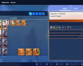 Since we've been asking for extra backpack/storage spaces and haven't actually received any, here is a suggestion I made. (Sorry for the crappy editing)