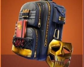 No one asked but here it is! Gold Knox Backbling