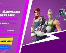CONCEPT: Fortnite - Homebase Founders Pack!