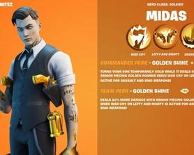 [CONCEPT] Get ready to go gold with the New Legendary Hero Midas with his new Commander and Team Perk: Golden Shine!