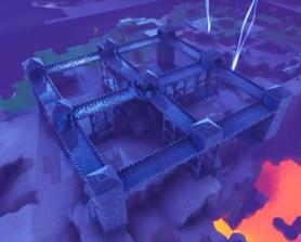 Day 3 of the castle I'm building in Twine Peaks!