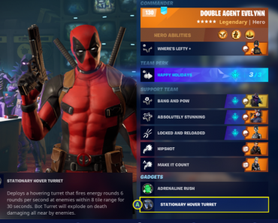 For the DeadPool fans out there, my Lifty and Righty/Pistol Build, you can use the ability every few seconds in the right situations, GG Epic on the skin aswell.
