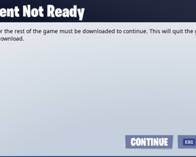 I just bought save the world and i cant do the second mission. it requires me to do a download but when I press continue it exits me out of fortnite and it doesn't do the download. can i get any help?