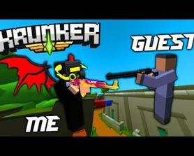 KRUNKER But The Video ENDS When I DIE By A SHOTGUN!