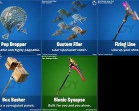 Leaked gliders and pickaxes from V12.3 (via @Lucas7Yoshi)