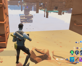 Some walls will appear transparent. Only tested a in desert map. May affect more maps. All i can say about this is at least it doesn't break the game.
