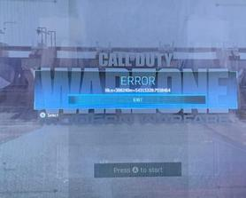 Warzone Blood Money Error while driving