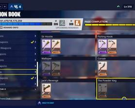 Flintlock Weapons are officially called pirate weapons now, and the new Neon bow cannot be found in the collection book, but the pirate bow can
