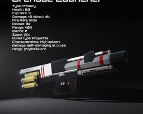 Grenade Launcher weapon concept