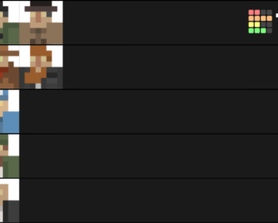My competitive tier list, agree or nah?