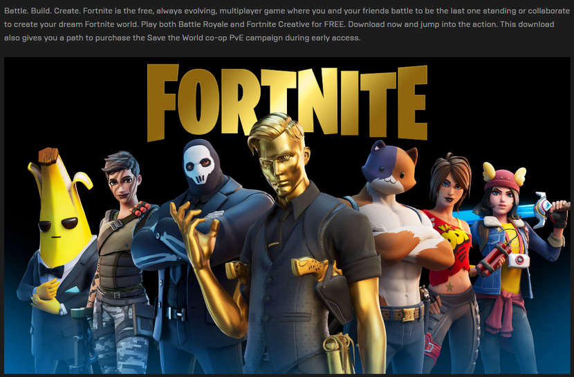 Why Save the World is not in Epic Games Store? The only ...