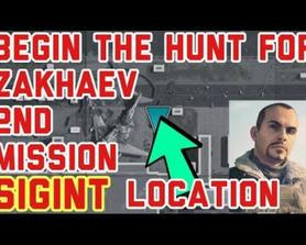 """How To Find """"SIGINT Was Relayed From Airport Military Wing"""" Location in COD as per the HUNTING THE ENEMY (Begin The Hunt For ZAKHAEV 2nd Mission / Challenges) Call of Duty Modern Warfare Warzone [MW]"""