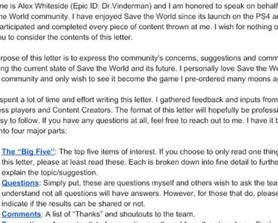 I Tried: My letter to the STW Developers