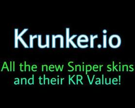 All the new Sniper skins and their KR Value! (Legendary+ rarity)
