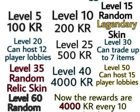 Level Rewards Suggestion (Improved!)