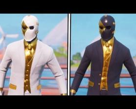 """Leaked """"Ghost Wild Card"""" Skin Gameplay! (+ Shadow Style)"""