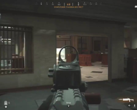 How to make the most of a precision airstrike whilst inside...
